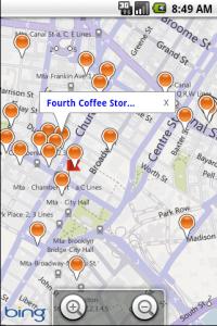 Bing Maps para Android
