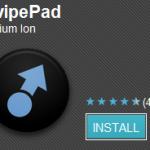 Aplicación swipePad (launcher)