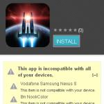 Incompatibilidades de juegos Android – nvidia tegra