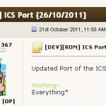 ICS en Nexus S