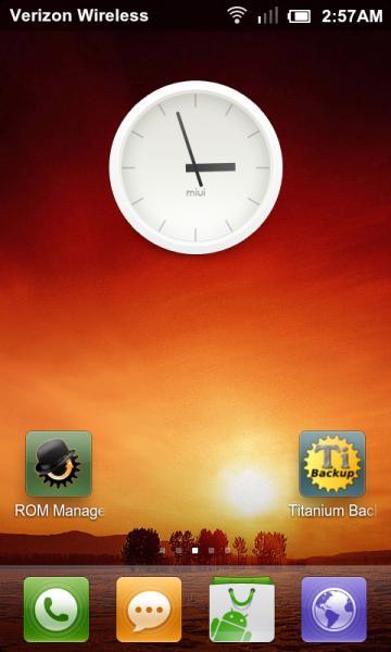 MIUI HTC Thunderbolt