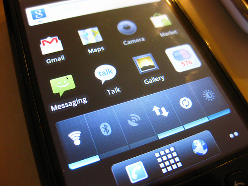 Android on Rooted HTC Magic