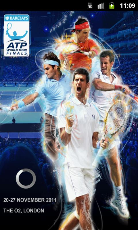Barclays ATP World Tour Finals Pantalla