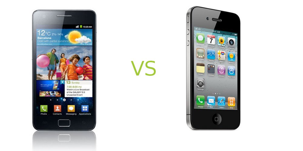 Galaxy S 2 vs Iphone
