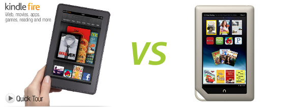 Kindle Fire vs Nook Tablet: ¿con cuál me quedo ...