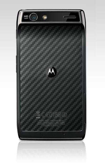 Motorola Razr Trasera
