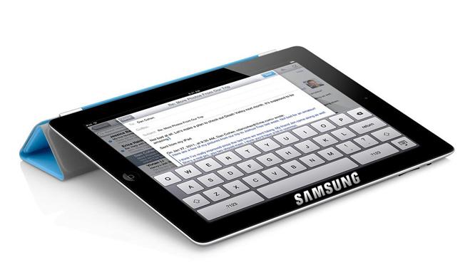 Samsung Retina tablet