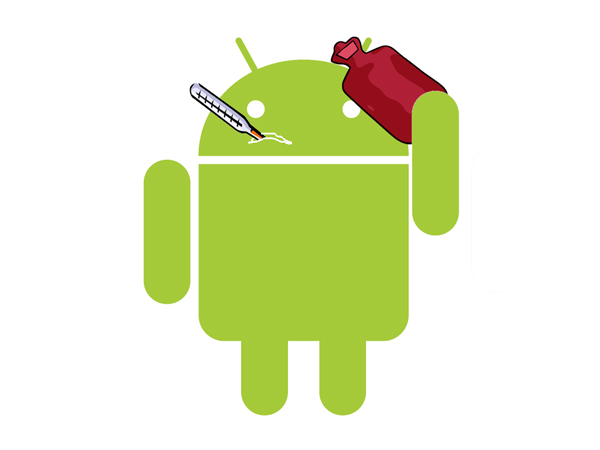 Android enfermo