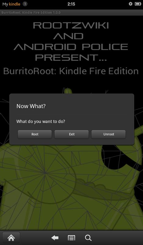 BurritoRoot Kindle
