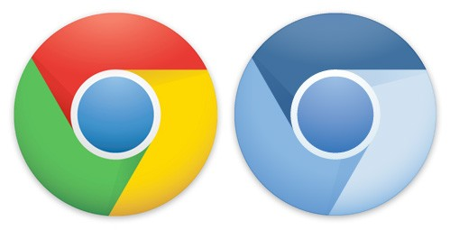 Logos Chrome y Chromium