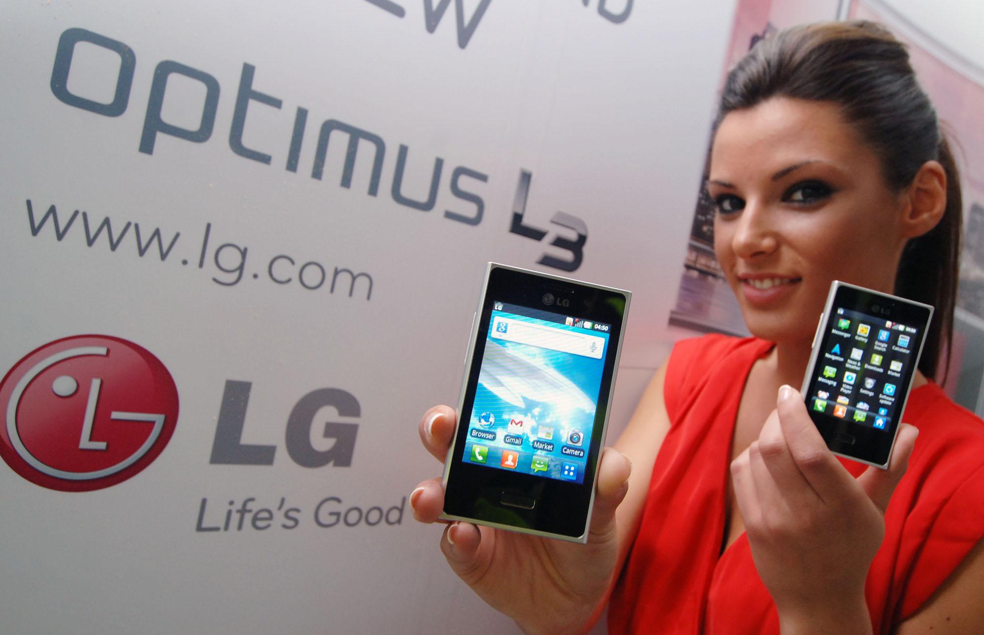 LG Optimus L3 es claramente un teléfono de gama baja pensado para