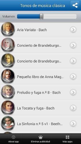 Tonos de música clásica