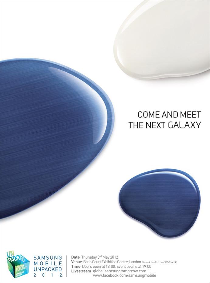 Lanzamiento Galaxy S 3