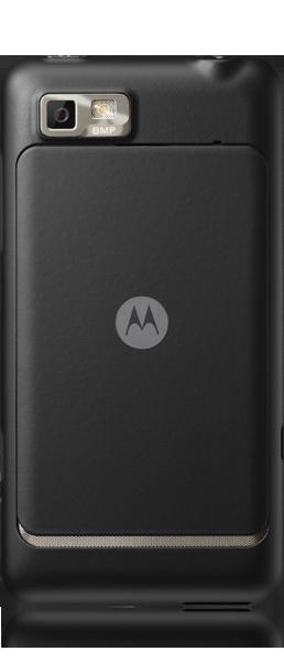 Motorola MOTOLUXE Trasera