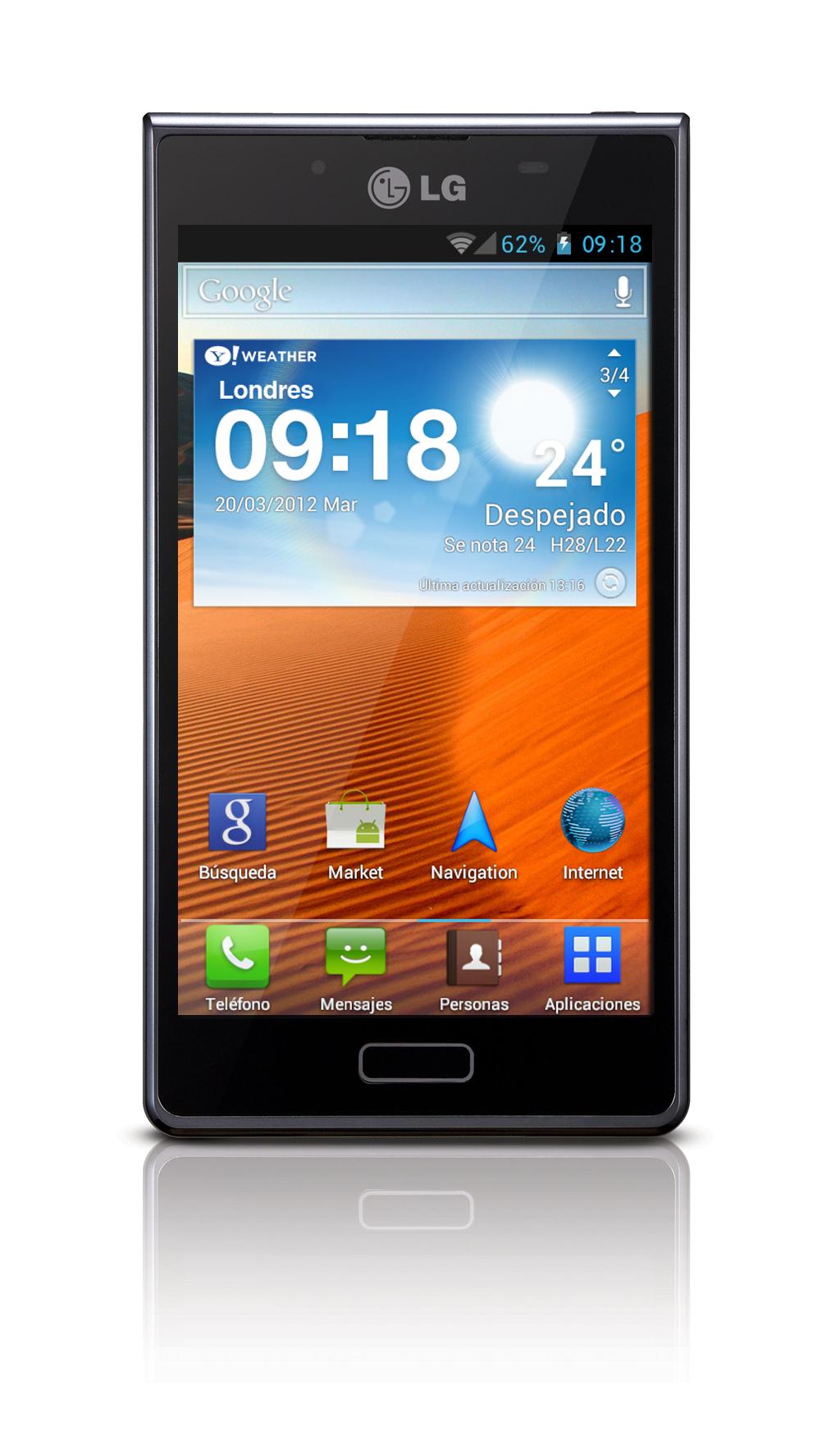 LG Optimus L7 llega a Espau00f1a de la mano de Orange
