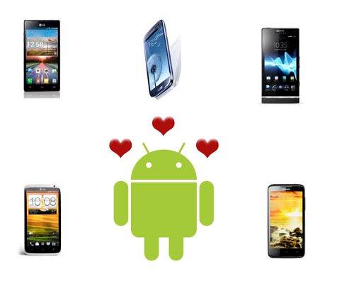 Comparativa Android gama alta