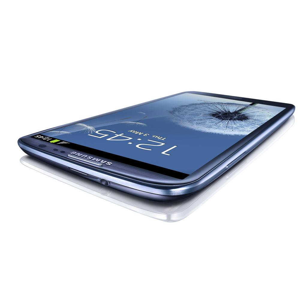 Samsung Galaxy S 3 Perspectiva