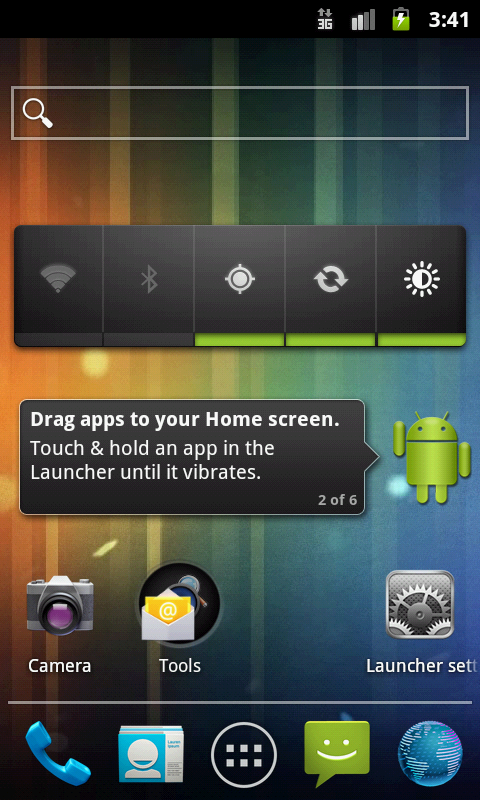 Holo Launcher captura