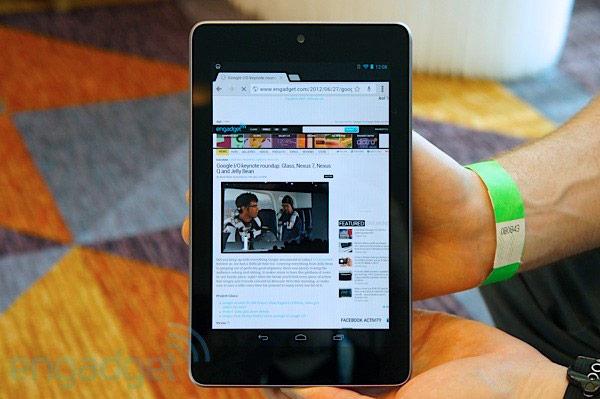 Nexus 7 Hands on