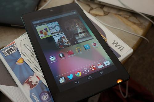 Nexus 7 en reposo