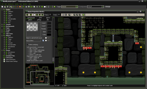 Bionfly en GameMakerStudio