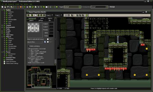 Bionfly en GameMakerStudio