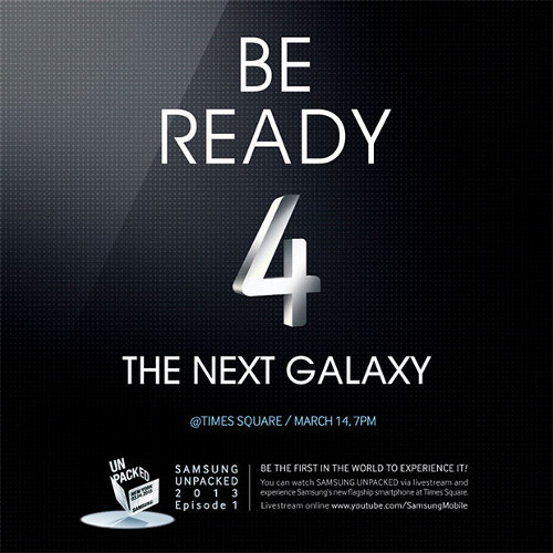 Be ready 4 the next Galaxy