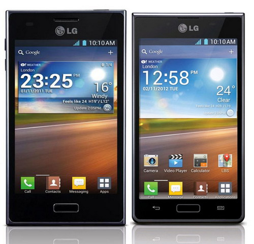 LG Optimus L5 y L7