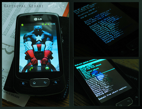 Custom ROM en Optimus One