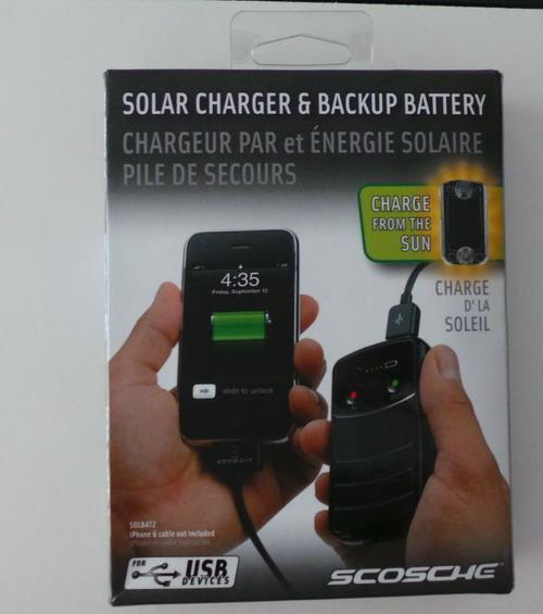 Batería reserva Scosche Solbat II