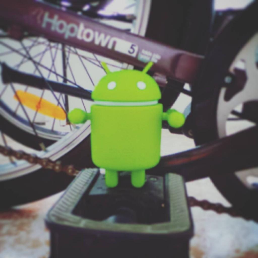 Pronto veremos Android en las bicicletas Hacerme caso!!! httpwwwandroidizadoscomnoticias20150901androidbicicletas
