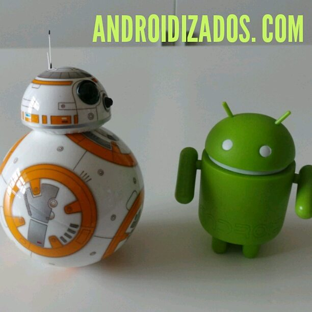 Duelo de droides Android vs BB8 android androidizados starwars