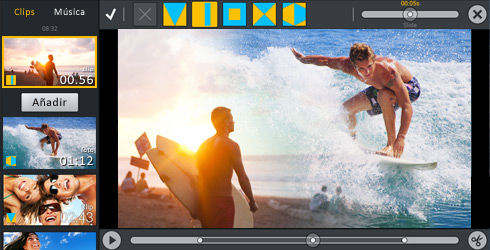 Editar vídeos en Android con Movie Edit Touch