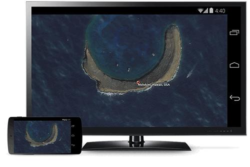 Pantalla de Android con Chromecast