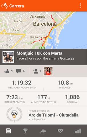 Strava GPS Correr Ciclismo
