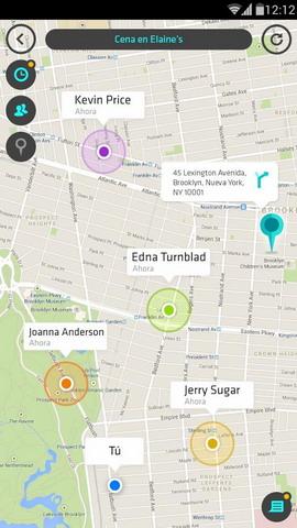 Wave - Localizar amigos Android