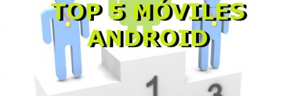 mejores moviles android
